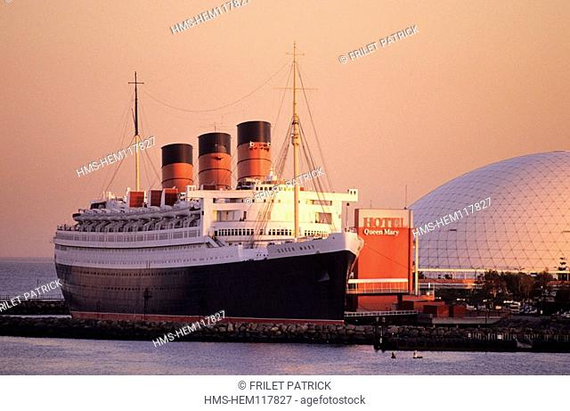 United States, California, Long Beach, Queen Mary