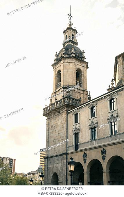 A church in Bilbao, Basque Country, Spain, Europe