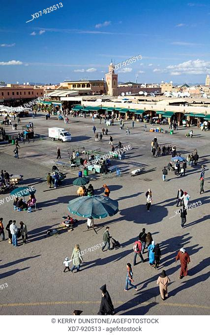 Morocco Marrakesh Place Djemaa el-Fna