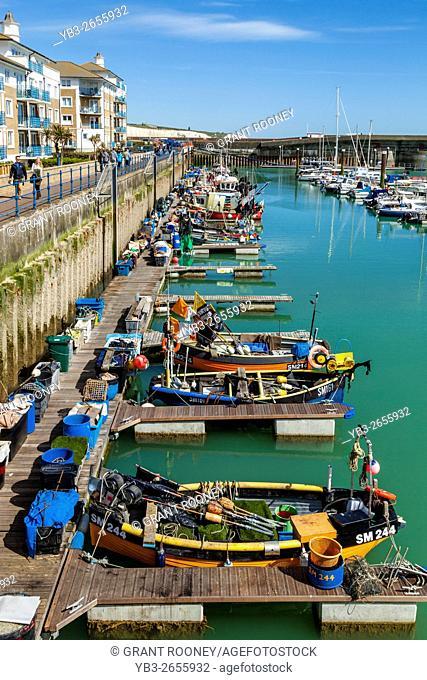 Fishing Boats, Brighton Marina, Brighton, Sussex, UK