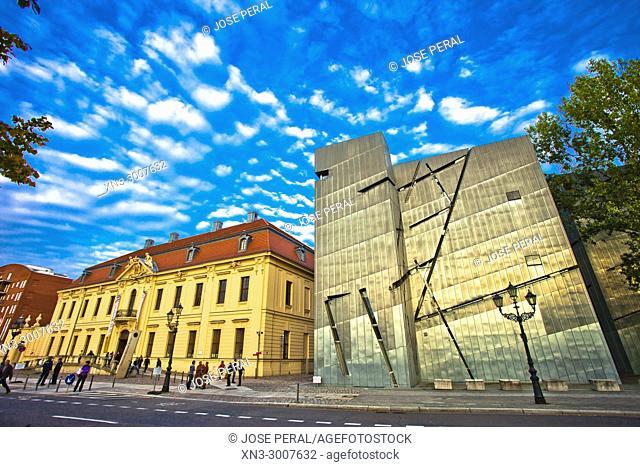 Jewish Museum, by Daniel Libeskind, Kreuzberg district, Berlin, Germany, Europe