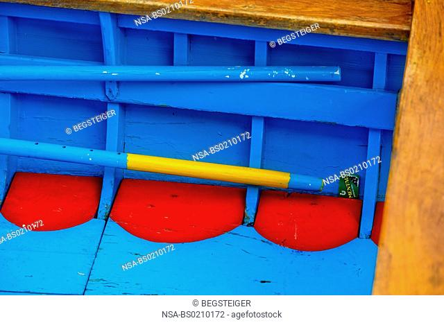 detail of a boat, Venice, Italy