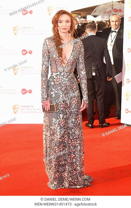 Virgin TV British Academy Television Awards held at the Royal Festival Hall - Arrivals. Featuring: Eleanor Tomlinson Where: London