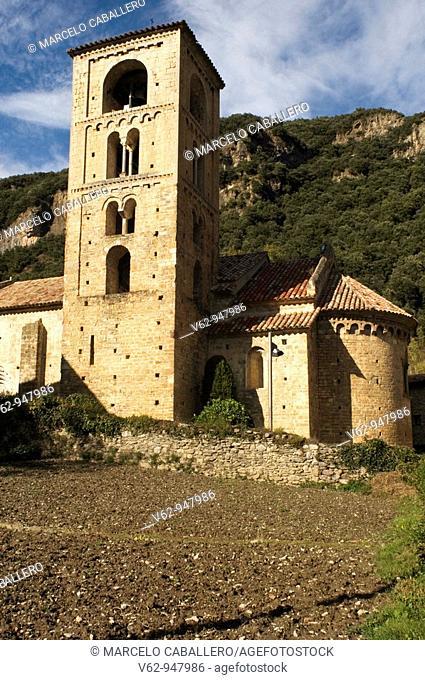 Church of Sant Cristòfol de Beget. Beget. Ripollès. Girona province. Catalonia. Spain