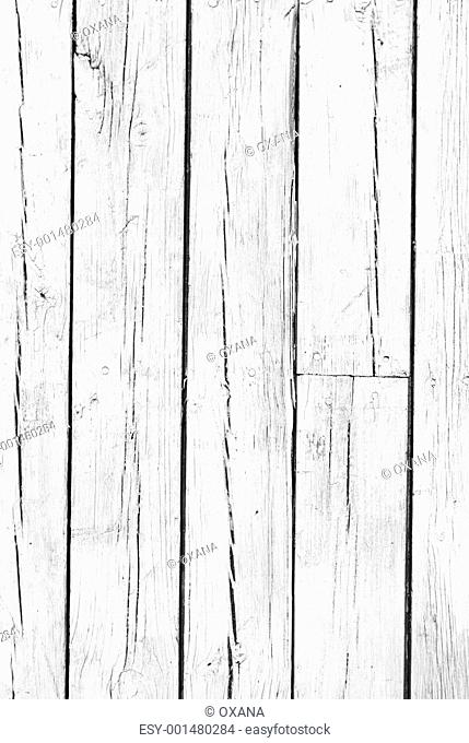 background of weathered white painted wood