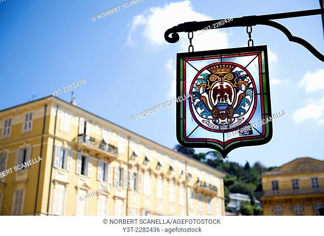 Europe, France, Alpes-Maritimes, Nice. Nice emblem
