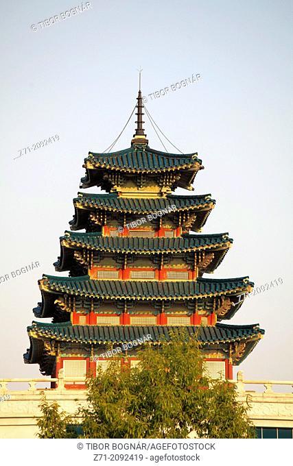 South Korea, Seoul, National Folk Museum,