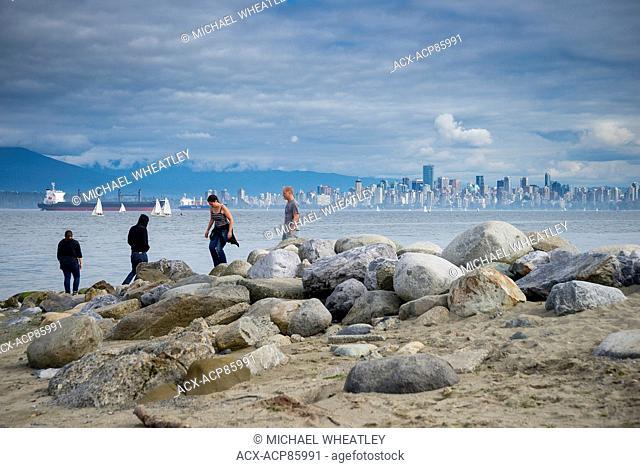 Spanish Banks beach, Vancouver, British Columbia, Canada