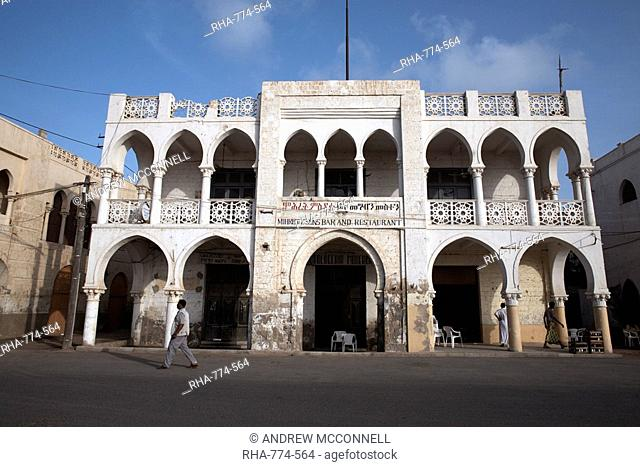 Ottoman architecture visible in the coastal town of Massawa, Eritrea, Africa