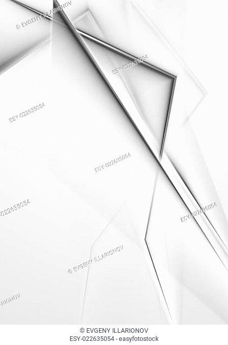 Elegant grey vector background
