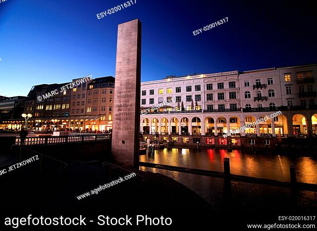 Rathausmarkt Hamburg