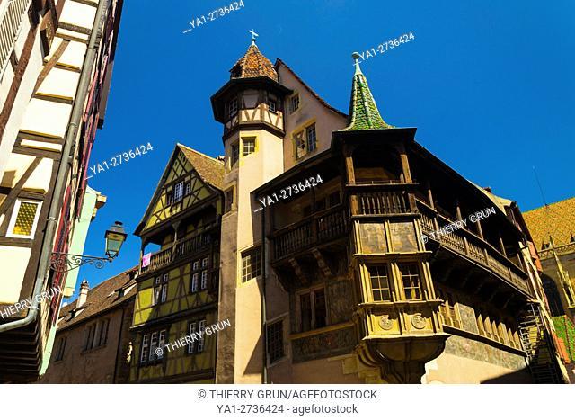 France, Haut-Rhin (68), Colmar town, Pfister house