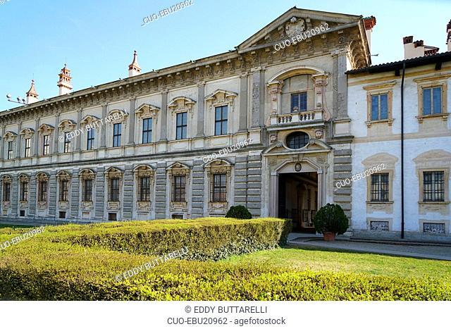 Monastero di Santa Maria delle Grazie monastery and sanctuary, Monastero e Santuario, Certosa di Pavia, Lombardy, Italy, Europe