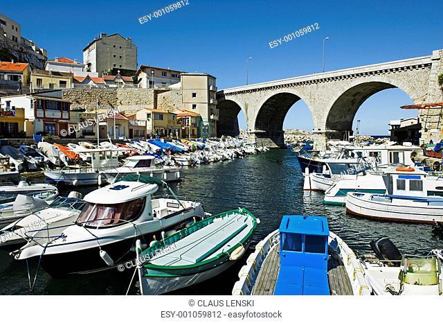 Vallon des Auffes in Marseille