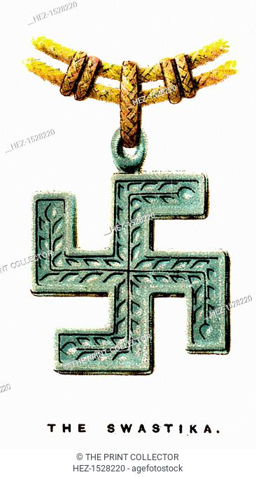 The Swastika, 1923. The ancient geometric symbol was used by many cultures including Hinduism, ancient Rome and Troy, and Native America before its...