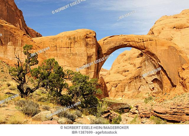 Rainbow Bridge, Lake Powell, Glen Canyon, Arizona, United States