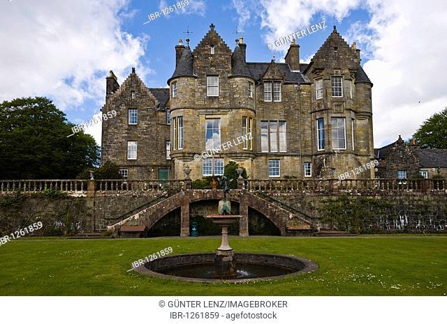 Torosay Castle and Gardens, Craignure, Isle of Mull, Scotland, United Kingdom, Europe