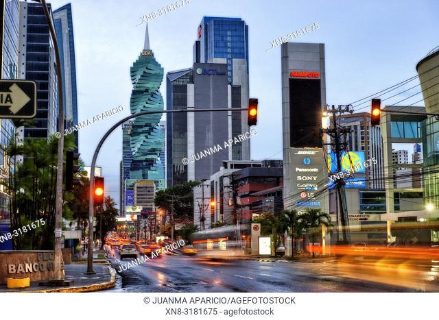 50th Street, Panama City, Republic of Panama, Central America, America