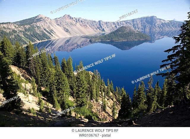 Crater Lake national Park, Oregon, USA