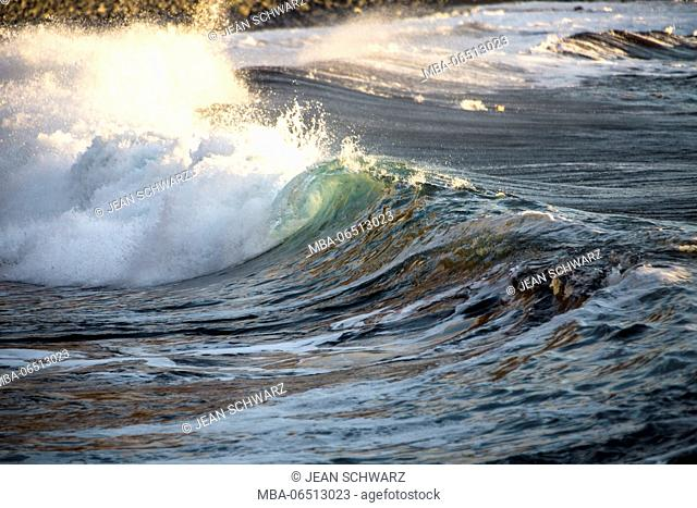 Wave in Valle Gran Rey