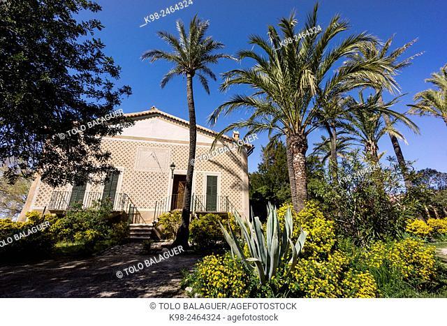 Monasterio de Miramar, Valldemossa, fundado en 1276 por Jaume II, a petición de Ramon Llull, Majorca, Balearic Islands, Spain