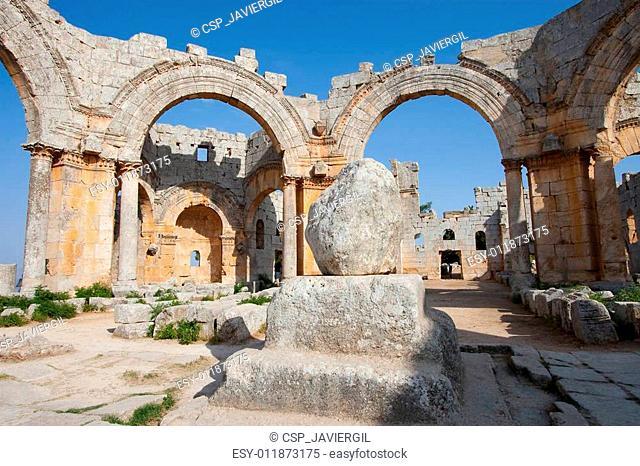 Sanctuary of San Simeon Estilita