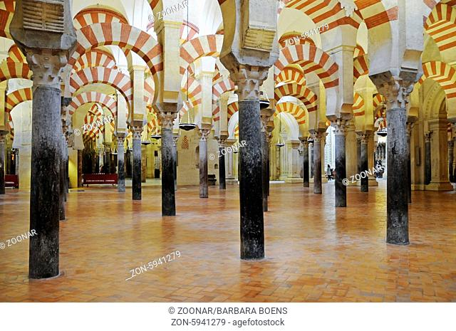 Mezquita, mosque, cathedral, Cordoba, Andalusia, Spain, Europe, Mezquita, Moschee, Kathedrale, Cordoba, Andalusien, Spanien, Europa