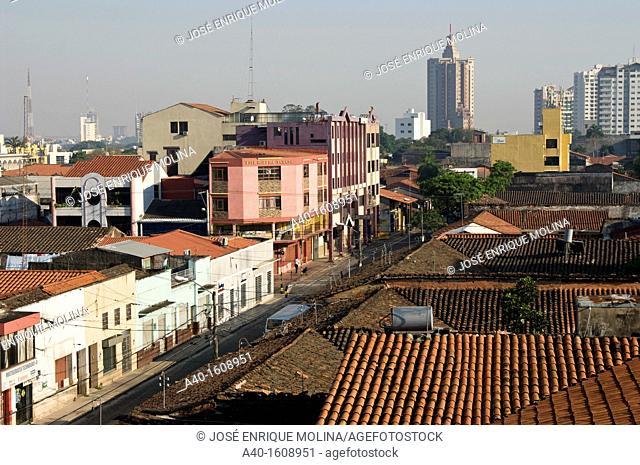 Bolivia. Santa Cruz city. Citycenter