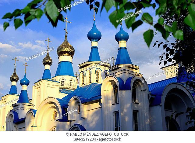 Orthodox church (Voskresensky sobor) of Bishkek, Kyrgyzstan