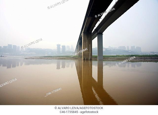 Bridges, Chongqing , Sichuan Province, Yangtze River, China