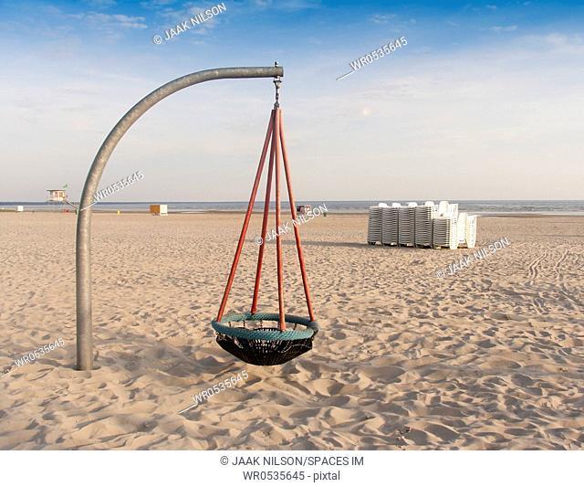 Basket Swing on the Beach