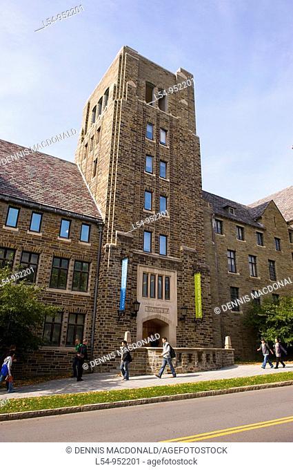 Law School Cornell University Campus Ithaca New York Finger Lakes Region