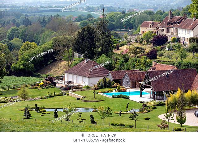 VACATION HOMES IN THE COUNTRYSIDE OF THE PERCHE, BELLEME (61), TOWN IN THE REGIONAL PARK OF THE PERCHE, VILLAGE OF CHARACTER, NORMANDY, FRANCE