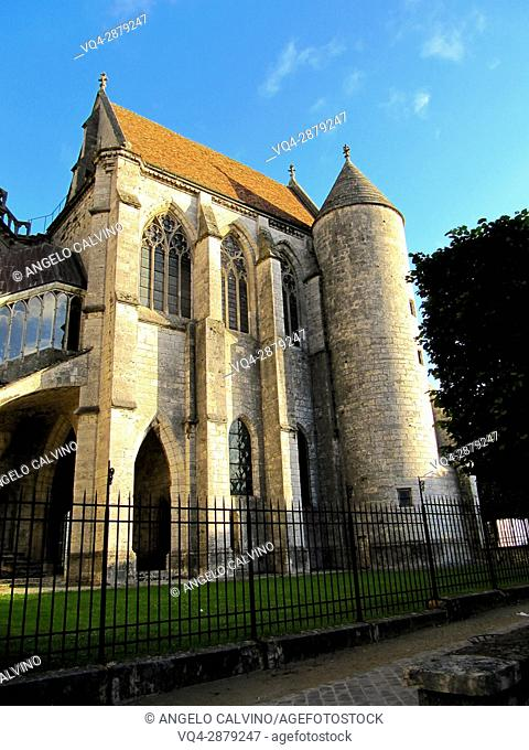 Cathedral of Our Lady of Chartres, Eure et Loir department, region Centre, France, Europe.