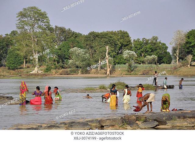India, Orissa, Chhattisgarh, daily life