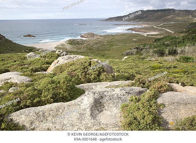 Forcados Point Coast; Costa de la Muerte; Galicia; Spain
