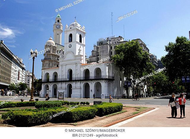 Cabildo, former seat of government, Buenos Aires, Argentina, South America