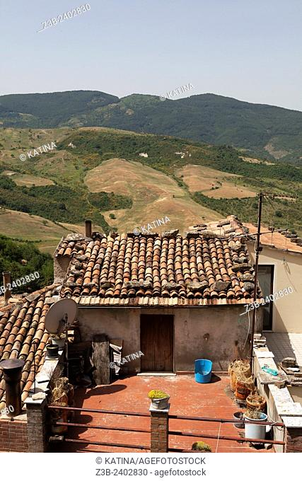 Pietrapertosa is a town and comune in the province of Potenza, in the Southern Italian region of Basilicata, Italy, Europe