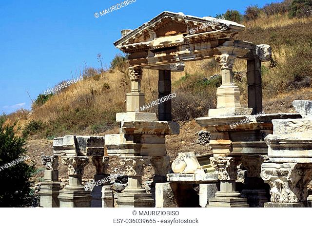 Ephesus (Ancient Greek ??????, Turkish Efes) was an ancient Greek city on the west coast of Anatolia, near present-day Selçuk, Izmir Province, Turkey