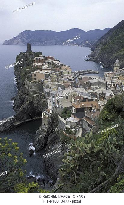 Old town, Italy,Vernazza, Cinque Terre