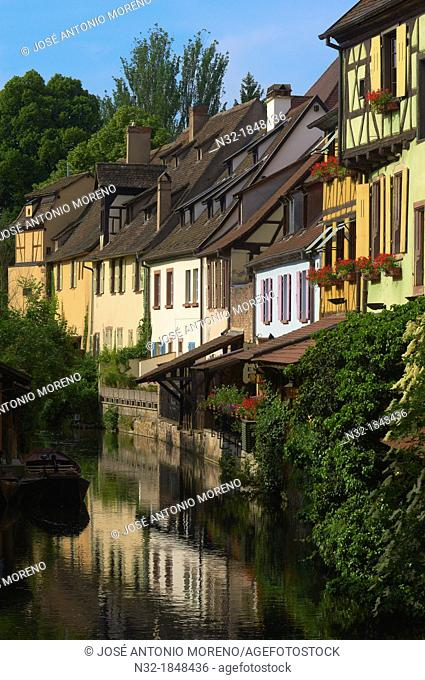 Colmar, Little Venice, La Petite Venise, Alsace, Wine Route, Alsace Wine Route, Haut-Rhin, France, Europe