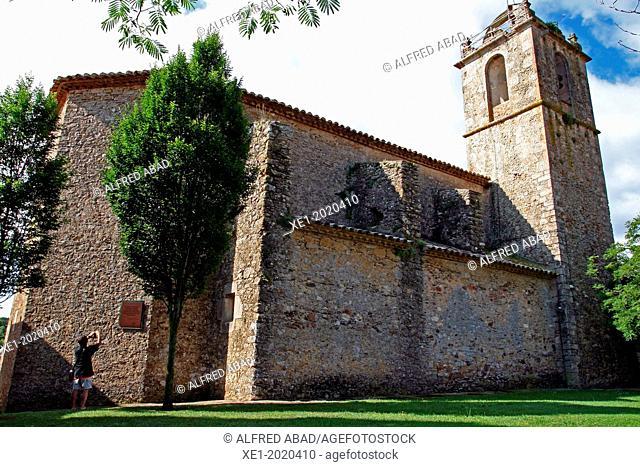 Church of Sant Fruitos, Llofriu, Palafrugell, Girona, Catalonia, Spain