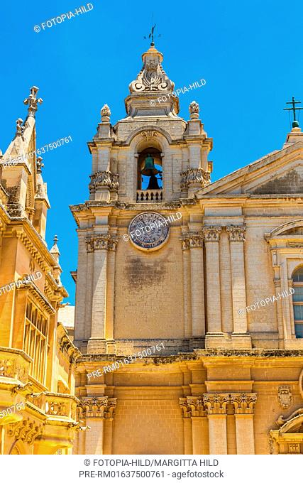Metropolitan Cathedral of Saint Paul in Mdina, Malta / Kathedrale St. Paul in Mdina, Malta