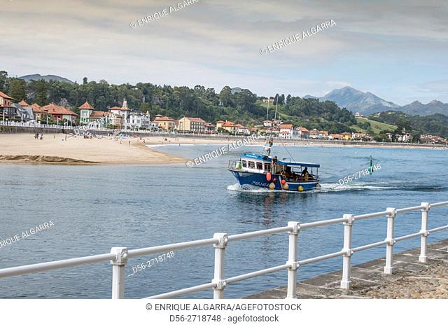 Spain, Asturias Region, Asturias Province, Ribadesella