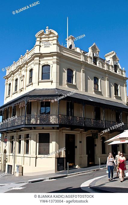 19th century hotel at Five Ways, Paddington, Sydney, NSW, Australia