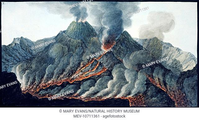 Observation on the volcanoes of the two Sicilies, Naples, 1776 & 1779 compiled by Sir William Hamilton (1730-1803) while Ambassador to the Kingdom of Naples