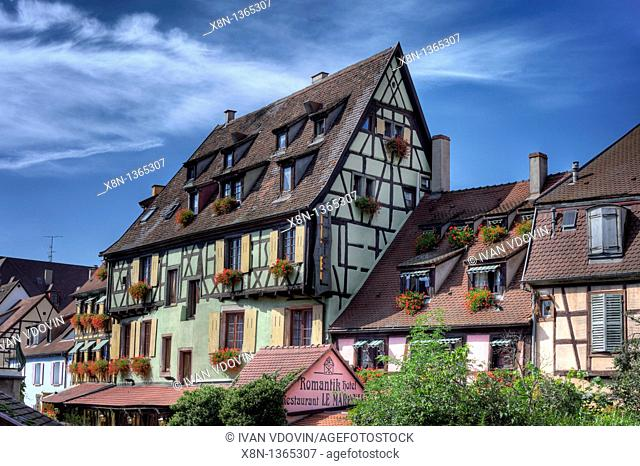 'Little Venice', Colmar, Haut-Rhin department, Alsace, France