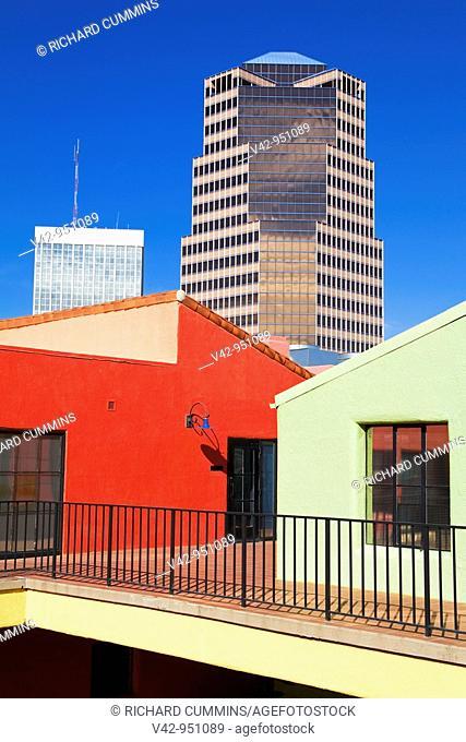 Unisource Energy Tower & La Placita Village,Tucson, Arizona,USA