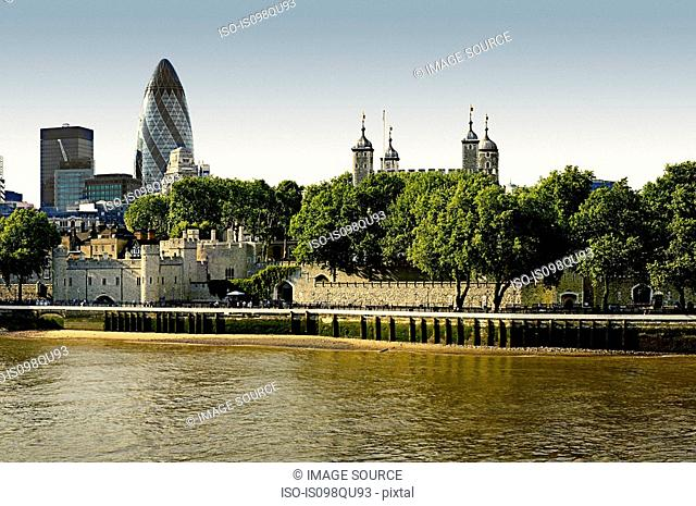 City and tower of london