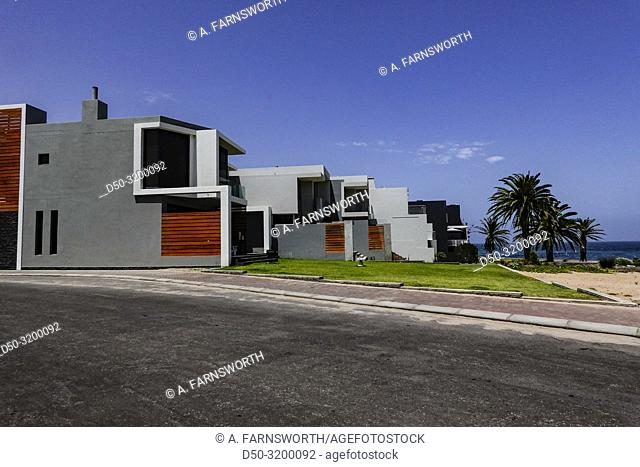 Langstrand, Namibia A newly built neighborhood or development between Walvis Bay and Swakopmund on the B2 hcoastal highway